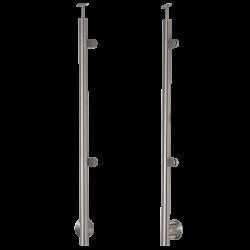 Słupek nierdzewny fi 42.4mm Prawy